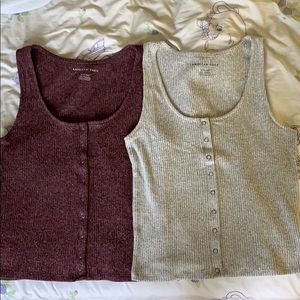 2 for $8 American eagle knit tank tops